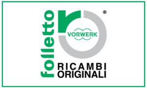 Logo Vorwerk Folletto Ricambi Originali